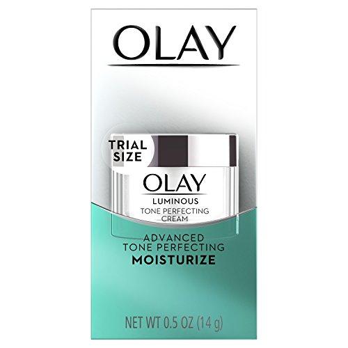powerful Olay Regenerist Luminous Tone Perfecting Cream, 0.5 oz, Package may vary