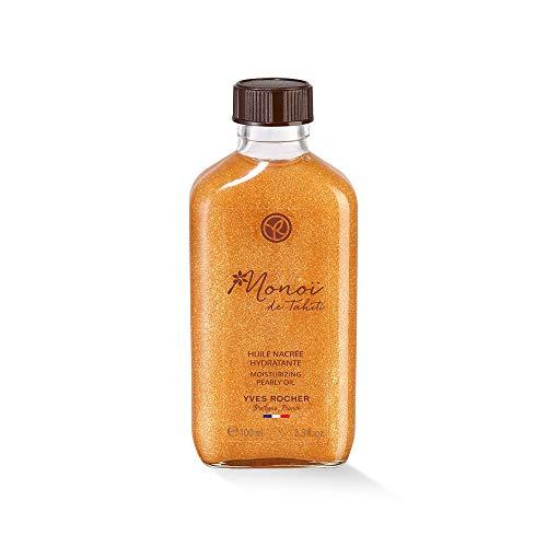 Yves Rocher Monoï Schimmerndes Pflege-Öl, pflegendes Feuchtigkeitsöl für Haut & Haare, 1 x Flacon 100 ml