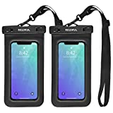 REAWUL Universal Waterproof Phone Case [2 Pack], IPX8