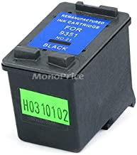 Generic Remanufactured Ink Cartridge Replacement for HP 21 (C9351AN) (Black)