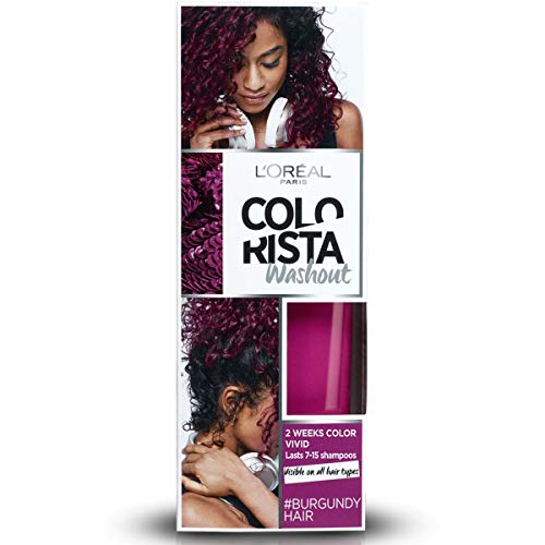 L'Oreal Paris Colorista Coloración Temporal Colorista Washout - Burgundy Hair