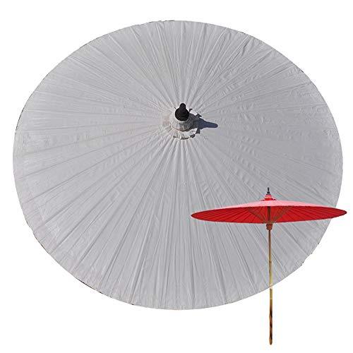 Parasol LCYXM De Jardin en Bambou 2M, Anti-Ultraviolet, Anti-Pluie, De Plage en Plein Air, Produits Faits À La Main, Parapluie Décoratif en Bâche-36 Côtes en Bambou, sans Base