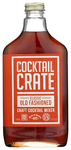 Cocktail Crate, Craft Cocktail Mixer, Classic Old Fashioned, 12.7 Fl Oz
