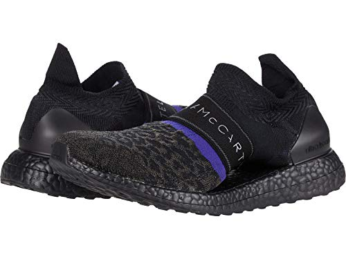 adidas by Stella McCartney Ultraboost X 3.D. Knit Sneaker Core Black/Core Purple 10.5 M
