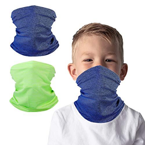 Reusable Washable Kid Face, Mask Neck Gaiter Bandana Boy, Tapa Cubre Bocas Para NiñosAvables, Fashion Design Cloth Fabric Facemask for Mouth Nose, Face Protective Balaclava, Toddler Headgear