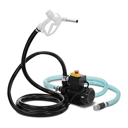 MSW MSW-OP40S Dieselpumpe 40 l/min 370 W Saugleistung 5 m Ölpumpe Heizölpumpe