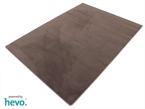 HEVO Romeo braun Teppich | Kinderteppich | Spielteppich 200x200 cm