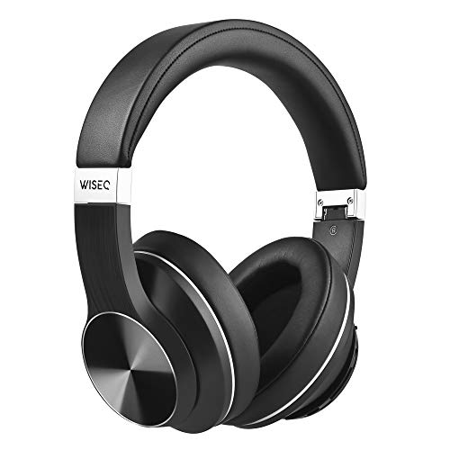 WISEQ - Draadloze Bluetooth Koptelefoon   20 uur Actieve Noise Cancelling   + Gratis Hardcase