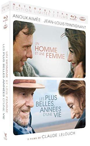Coffret lelouch 2 films : un homme et une femme ; les plus belles années d'une vie [Blu-ray] [FR Import]