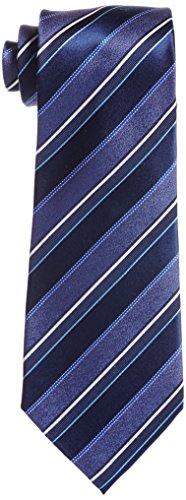 [ユナイテッド カラーズ オブ ベネトン] ネクタイ 003269-20000-2927 メンズ 紺ベース、ブルー系・ホワイトストライプ 日本 FREE-(FREE サイズ)