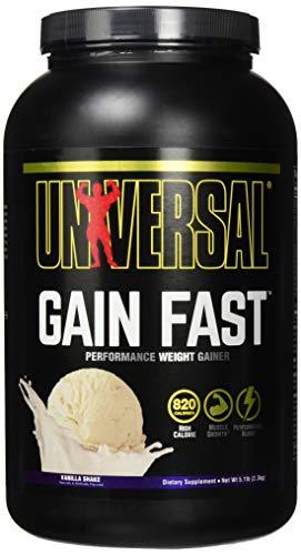 Universal Nutrition Gain Fast 3100 Weight Gainer Kohlenhydrate 2300g (Vanilla - Vanillie)