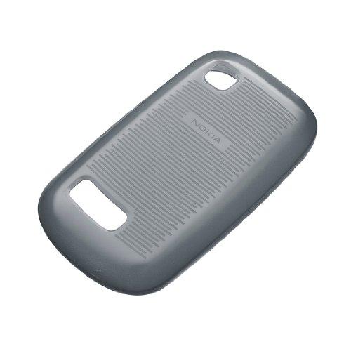 Nokia CC-1034BK Soft Cover für Asha 200/201 schwarz