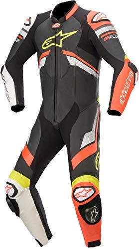 Alpinestars GP Plus V3 Tuta in moto un pezzo Nero/Rosso/Bianco 48