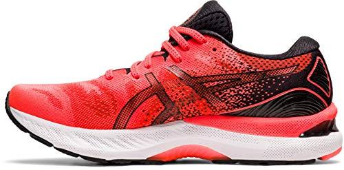 ASICS Gel-Nimbus 23 Tokyo, Zapatillas de Running Hombre, Sunrise Red Black, 50.5 EU