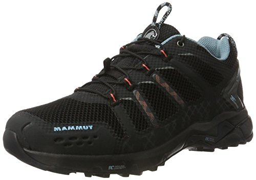 Mammut T Aenergy Low GTX Zapatillas de Senderismo, Mujer, Negro Black Air 000, 38 2/3 EU