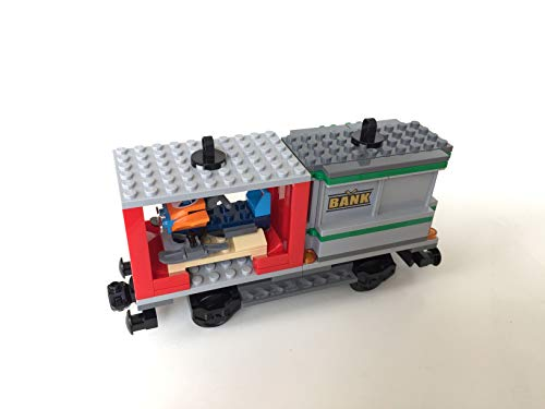 Lego Tren de tren City Waggon con 2 contenedores (60198)