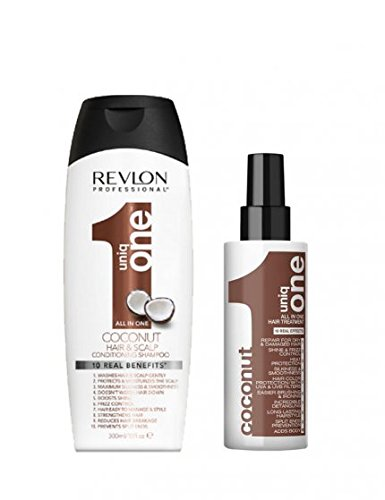 Revlon Uniq ONE All in One Treatment 150ml & Conditioning Shampoo 300ml -...