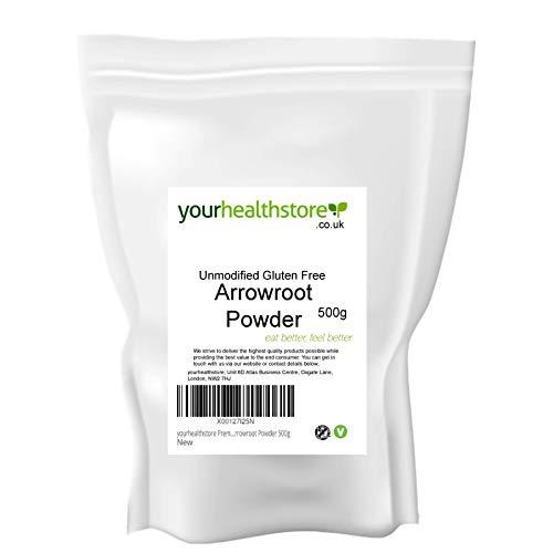 yourhealthstore - Polvere di maranta di alta qualità, non modificata, senza glutine, 500 g
