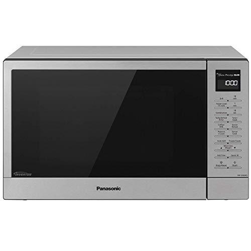 Panasonic NN-GN68KS Countertop Microwave Oven with FlashXpress, 2-in-1 Broiler, Food Warmer, Plus Genius Sensor Cooking– 1.1 cu. ft, Stainless Steel/Silver (Renewed)