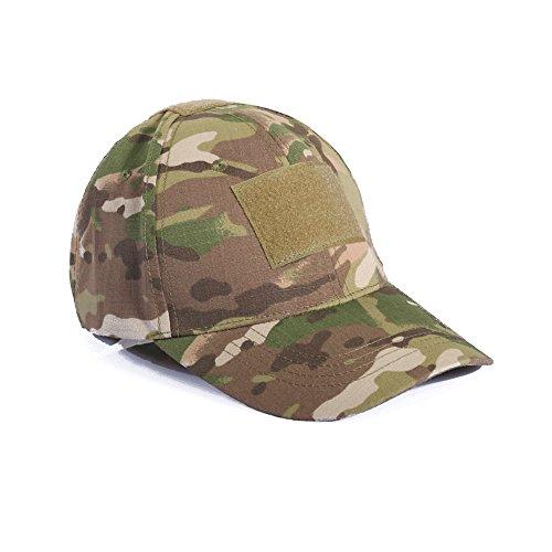 Ever Fairy Berretto da Baseball tattico dell'Esercito del Cappello da Baseball tattico Militare dell'Esercito per la Caccia di Wargame Che Pesca i Giochi all'aperto (CP Camouflage)