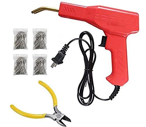 Sistema profesional de la máquina de soldadura de reparación de grietas de parachoques de coche, sistema de soldadura de plástico caliente con diseño de grapas