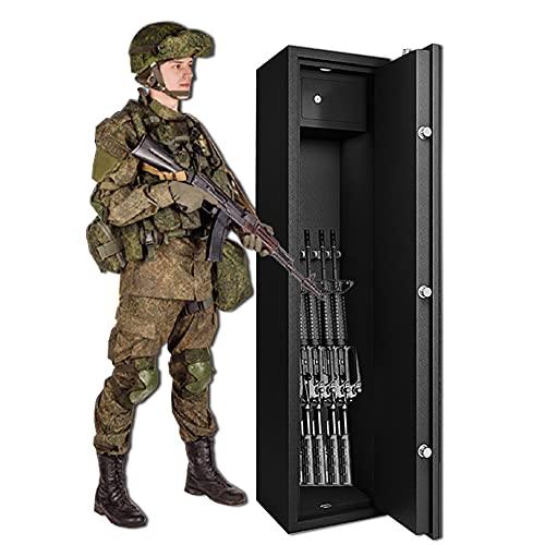 BLLJQ Caja Fuerte De Seguridad, Armeros, Acero De Alta Seguridad Resistente Y Duradera, para Oficina O Uso Doméstico
