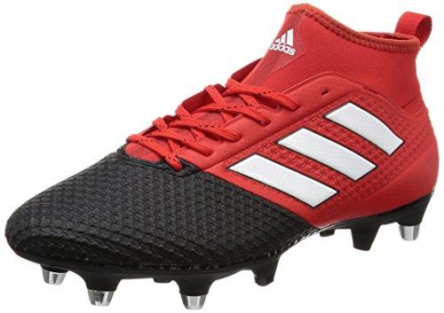 adidas Ace 17.3 Primemesh Soft Ground, Scarpe da Calcio Uomo, Rosso (Red/Ftwr White/Core Black), 44 EU