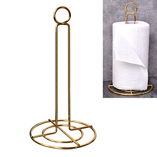 Anyren Diversified Paper Towel Holder, Toilet Roll Paper Holder Tissue Rack Stand for Kitchen, Dining Table, Bedroom, Countertop