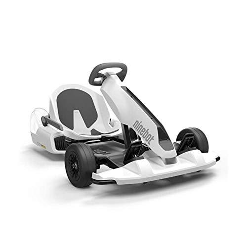 Pedal Go-Kart Ginebot GoKart Kit Fitting für Segway miniPRO Transporter (Self Balancing Scooter inklusive), Big Racing Ride auf Auto Spielzeug für Kinder und Erwachsene,Enhanced