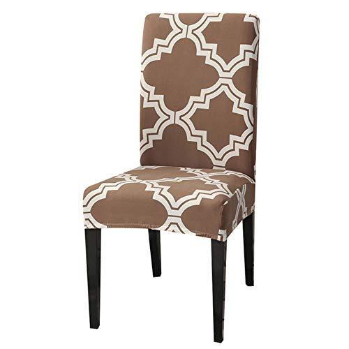 LucaSng - Fundas elásticas elásticas para sillas de boda, comedor, oficina, banquete (1/2/4/6/8 unidades), 8, 4 piezas