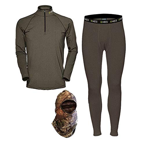 HECS Hunting High Performance Base Layer - Hunting, Hiking & Outdoors (3X-Large)