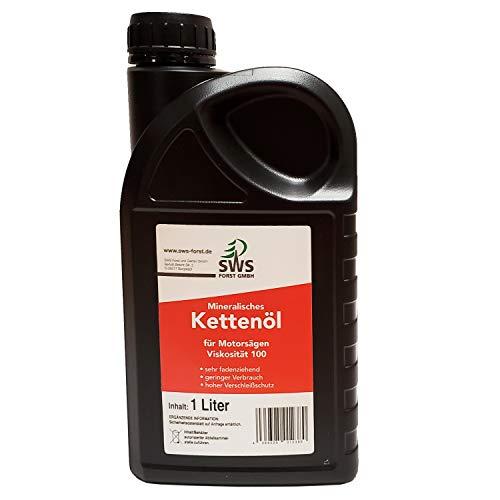 Aceite para cadenas de motosierra Super-Oil con aditivo adherente, bidón de 1 litro
