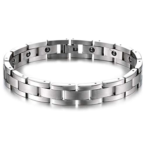 HJGHY Magnetic Recovery Healing Bracelet - Arthritis Pain Relief & Carpal Tunnel - Adjustable Length Magnetic Bracelets with Tool