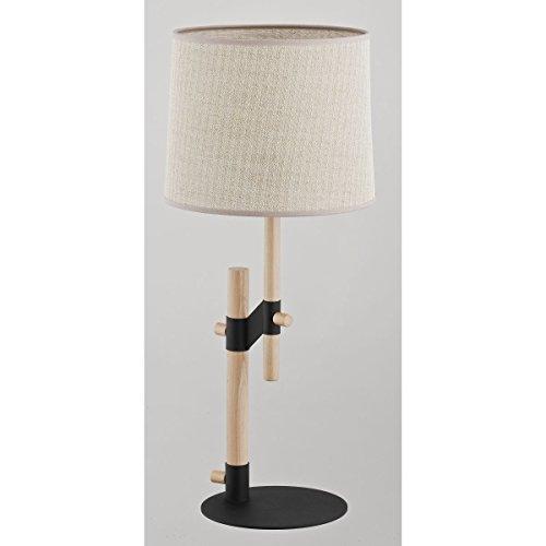 ALFA Iwo 1 Lampe de Chevet Lampe à Poser Luminaire Lampe de Table lumière Interieur
