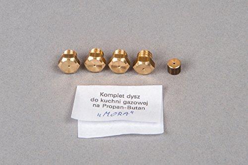 Gasherd Gaskochfeld Ersatzdüse Gasdüse für Propan Butan (LPG) - MORA