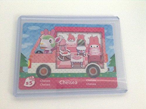Chelsea - S5 - ENGLISH VERSION - Nintendo Animal Crossing New Leaf Sanrio amiibo Card