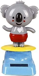Sloth Dog Cat Koala Doll Toy Gift for Adults /& Kids Juesi Solar Dancing Toy Swinging Animated Bobble Dancer Cute Animal Figure Model Car Dashboard Decoration
