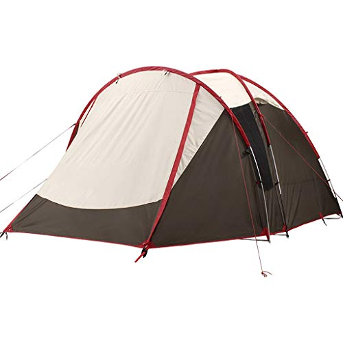 Camping Tent 4 people Large space Family Tents,Big,Easy Up, Double Layer,Waterproof, Weather Resistant (Color : White)