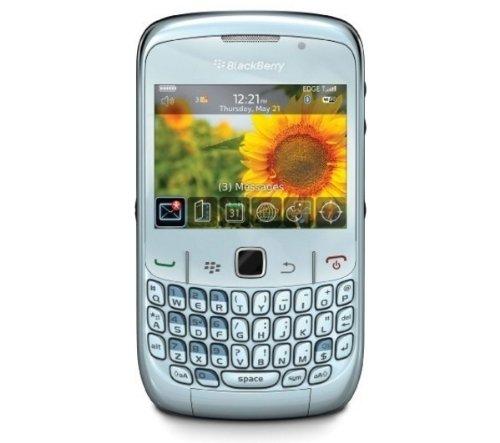 BlackBerry Curve 8520 Smartphone (QWERTZ-Tastatur) frost