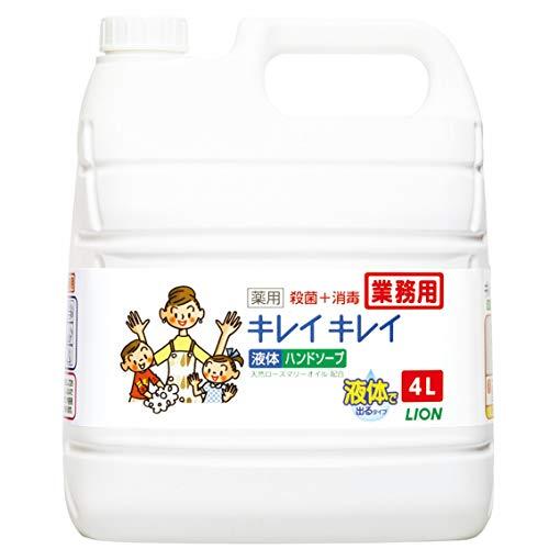 キレイキレイ 【業務用 大容量】薬用 ハンドソープ (医薬部外品) 詰替え用 4L