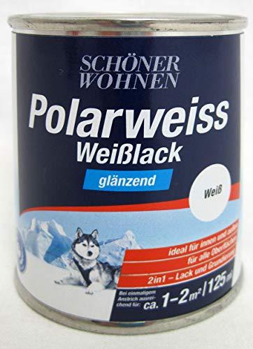 0,125L Schöner Wohnen Duracryl Professional Weißlack g Weisslack Lack weiss