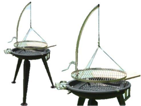 En acier inoxydable pour barbecue oscillant 14 mm tige Ø 60