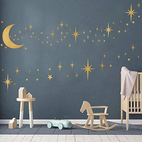wall decal stars - 3