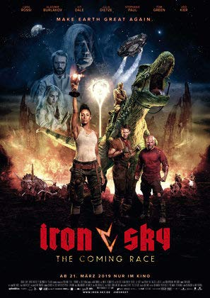 Iron Sky The Coming Race – German Movie Wall Poster Print - 30cm x 43cm / 12 Inches x 17 Inches