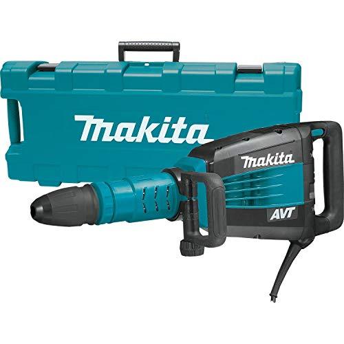 Makita HM1214C - Martillo Demoledor Sds Max Avt 1500W 11.7 Kg Modo Ralenti Arranque Suave