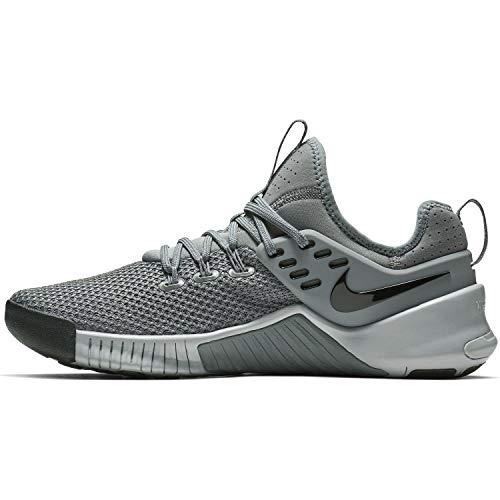 Nike Men's Metcon Free Training Shoe Cool Grey/Wolf Grey-Black 9.5
