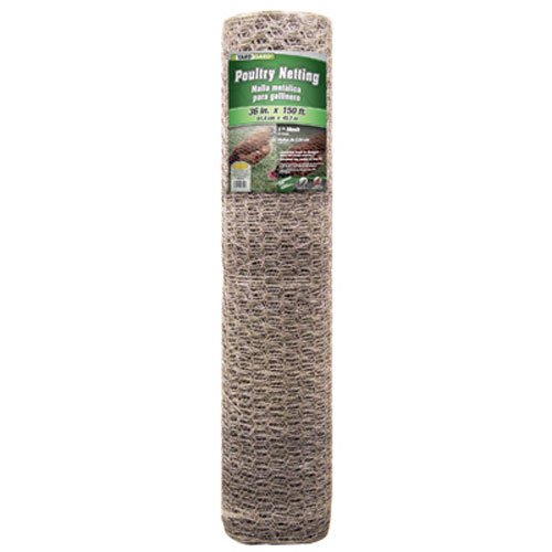 Mat Midwest 308427B 36-Inch-by-150-Foot 1-Inch Mesh 20-Gauge Hexagonal Poultry Netting