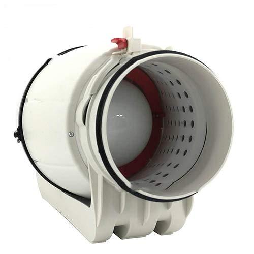 Schallgedämmter Rohrventilator Silent Lüfter 100 125 150 200 mm (150 mm)