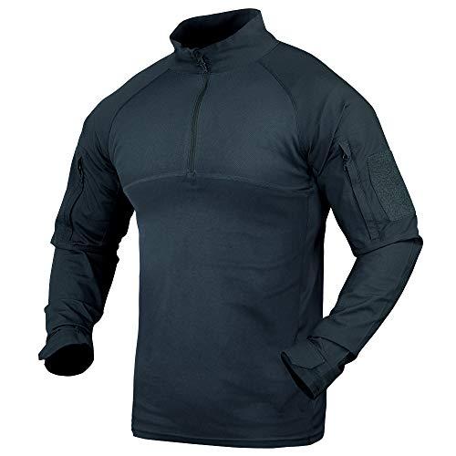 Condor Combat Shirt (Navy Blue, Large)