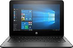 "HP ProBook x360 G1 EE 11.6"" Touchscreen LED HD 2-in-1 Laptop, Intel Celeron N3350 Dual-Core 1.1GHz, 4GB DDR3, 64GB SSD eMMC, Type-C, HDMI, RJ-45, WiFi AC, Bluetooth 4.2, Windows 10 Pro"